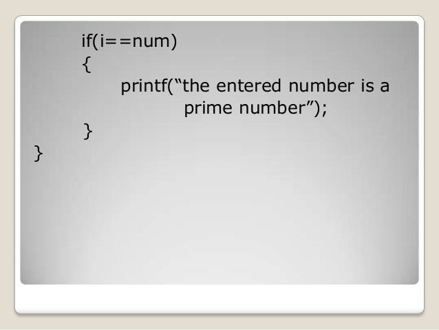 how to make prime number program in c visual studio