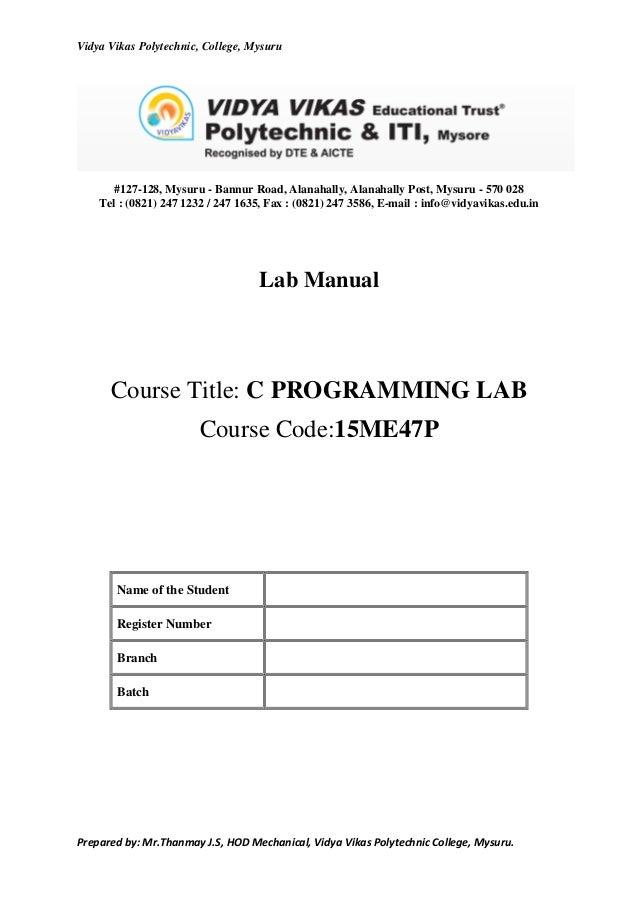 c programming lab essay academic service rh ufcourseworkwmna afvallenbuik info Robotics Lab Computer Programming