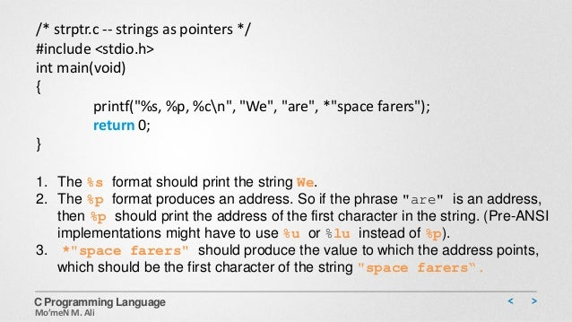 C programming & data structure [character strings & string ...