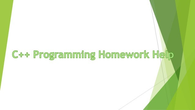 Homework help c programming