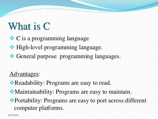 c programming #1 application for c programming-----please note-----instead of giving us a lower rating, please mail us your queries.