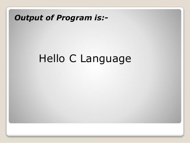 C Programming Language Tutorial for beginners - JavaTpoint