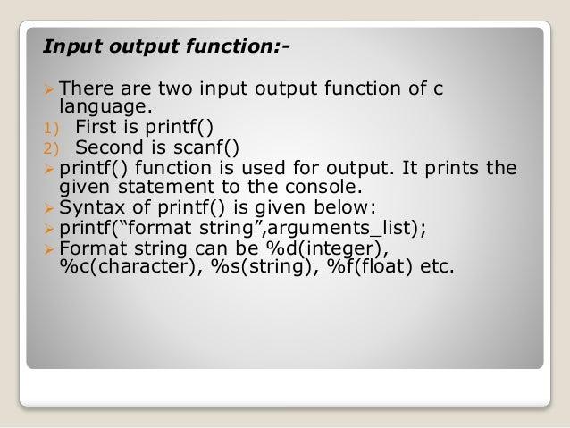 Pdf tutorial c programing