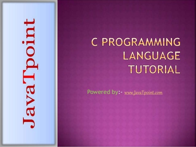 writing a compiler in c tutorial for beginners pdf