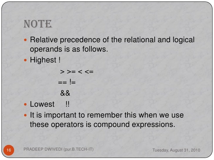 how to remember operator precedence in c