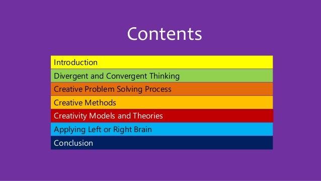 Creative Problem Solving - Training Presentation Slide 2