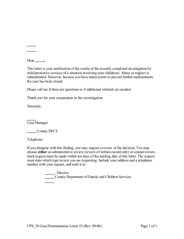 cps-20-case-determination-letter-2-1-638 Cps Letter Template on paul vallas, investigator reference, requesting meeting, case is closed unsubstantiated, need for inpatient,
