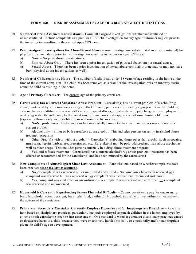 Cps Drug Assessment