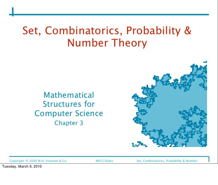 Set, Combinatorics, Probability &                     Number Theory                         Mathematical                  ...