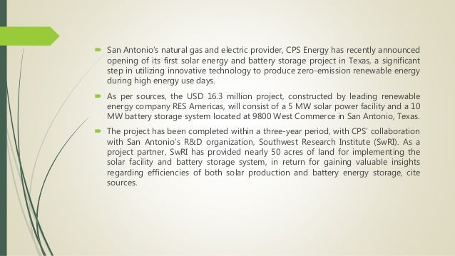 CPS Energy unveils first solar energy, battery storage