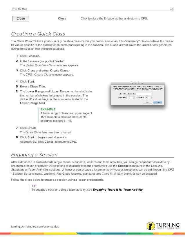 Cps for mac user guide