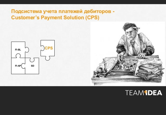 © TeamIdea, 2012 1© TeamIdea, 2012 1 © 2013 TeamIdea. All rights reserved. Подсистема учета платежей дебиторов - Customer'...