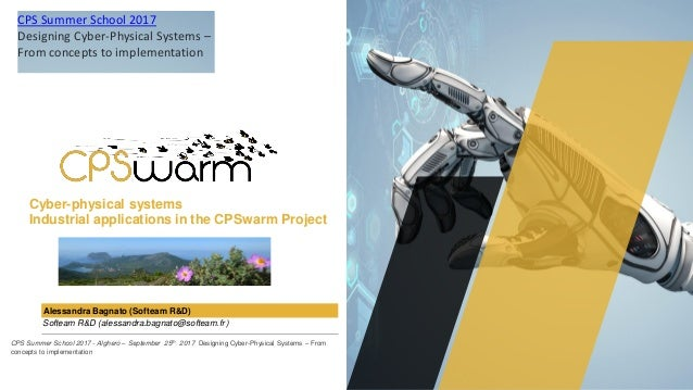 Cyber-physical systems Industrial applications in the