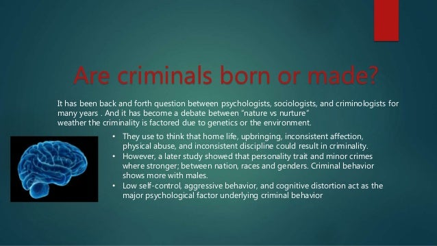Psychological study of serial killers