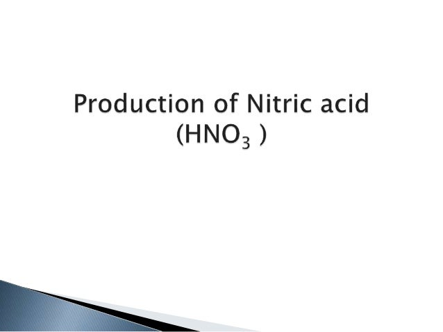 hno3 manufacturing with process flow diagram  block diagram nitric acid #11