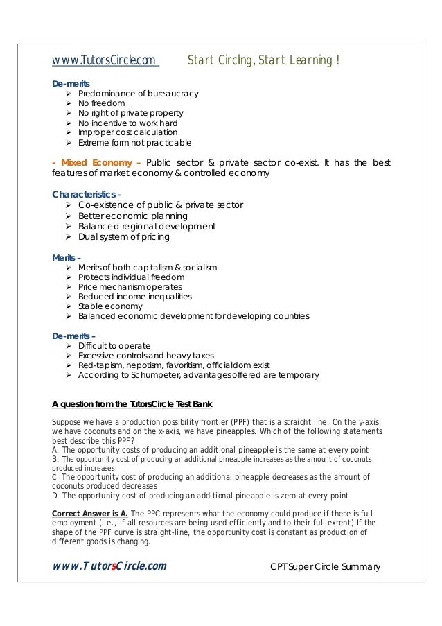 Tutors circle cpt super circle summary economics december 2013 tutorscircle cpt super circle summary 8 fandeluxe Choice Image