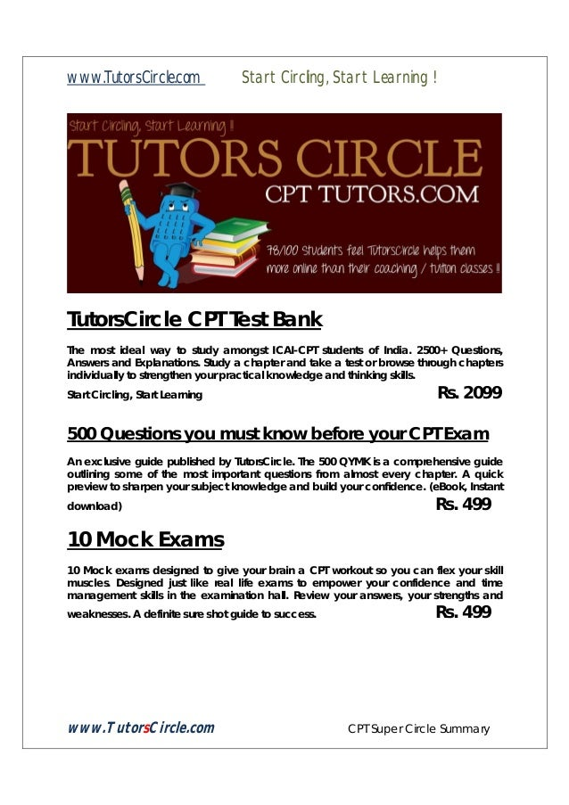 Tutors circle cpt super circle summary economics december 2013 tutorscircle cpt super circle summary 9 fandeluxe Choice Image