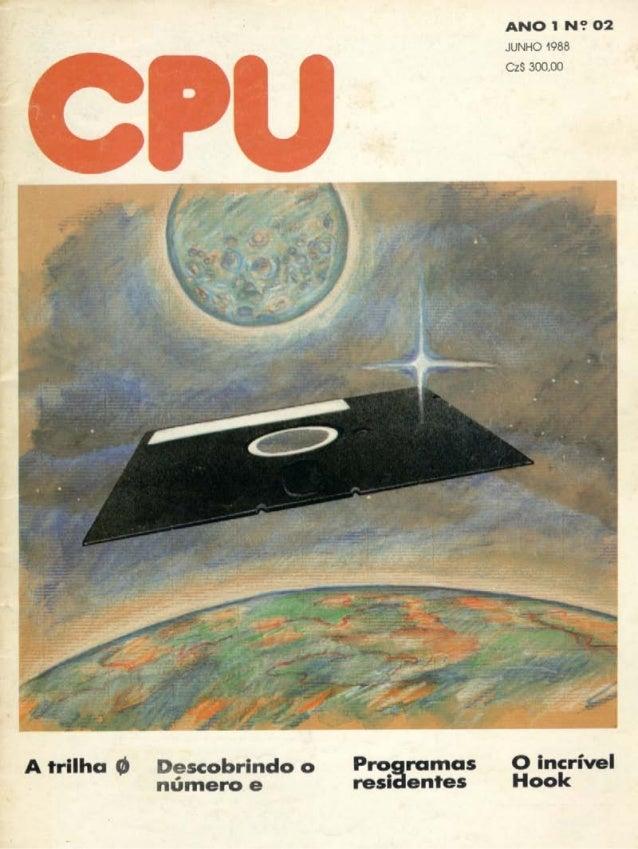 Revista CPU MSX - No. 02 - 1988