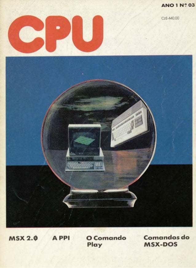 Revista CPU MSX - No. 03 - 1988