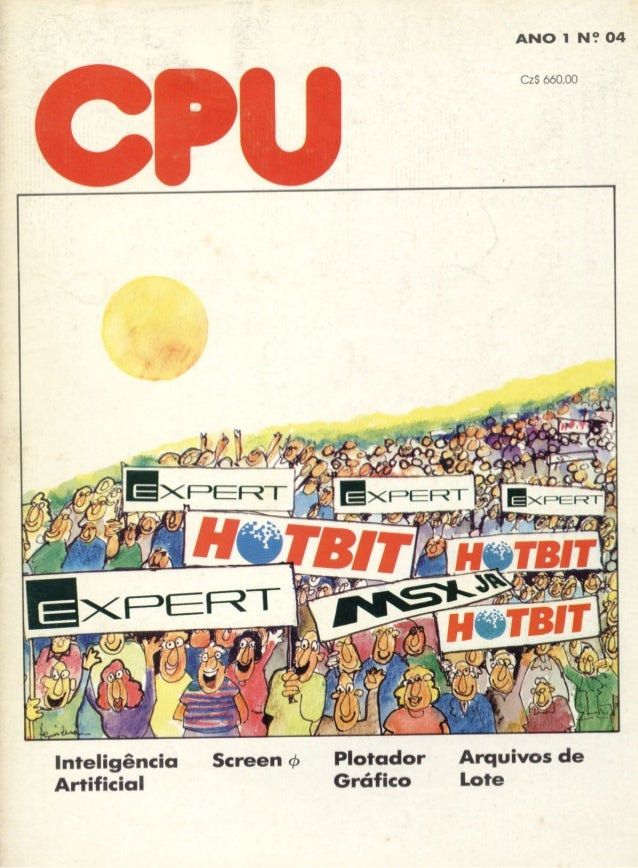 Revista CPU MSX - No. 04 - 1988