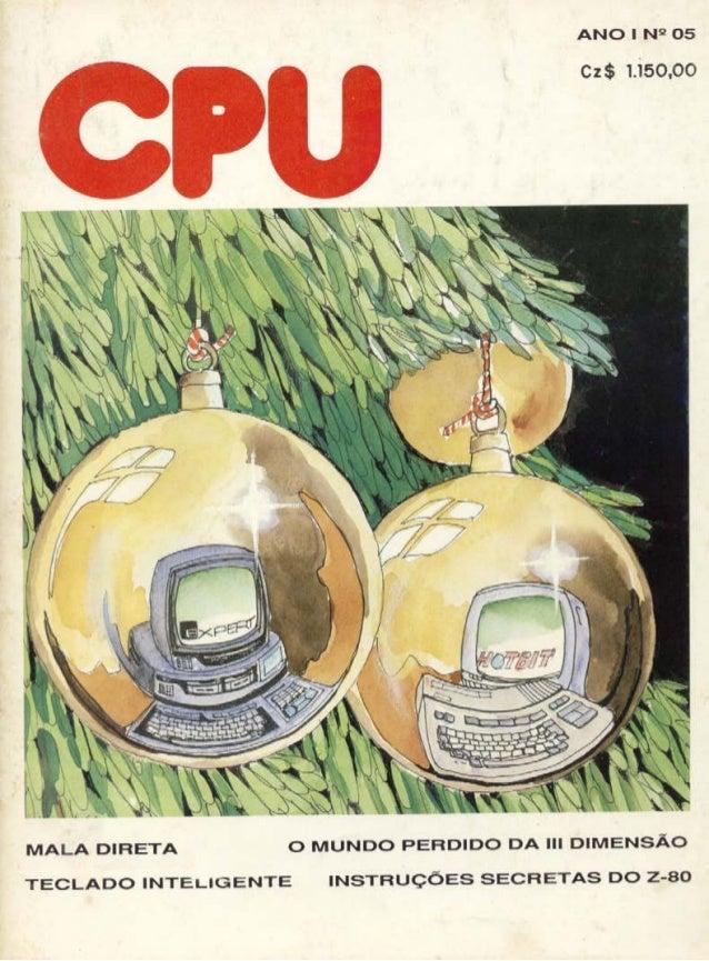Revista CPU MSX - No. 05 - 1988