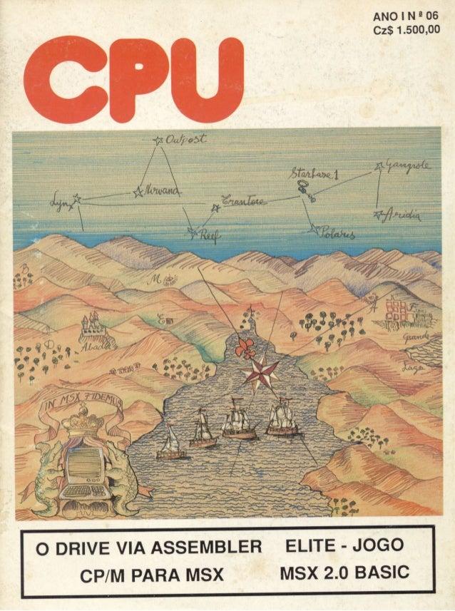 Revista CPU MSX - No. 06 - 1988