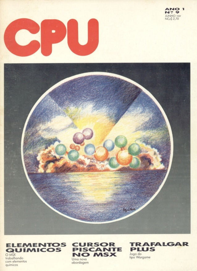 Revista CPU MSX - No. 09 - 1988