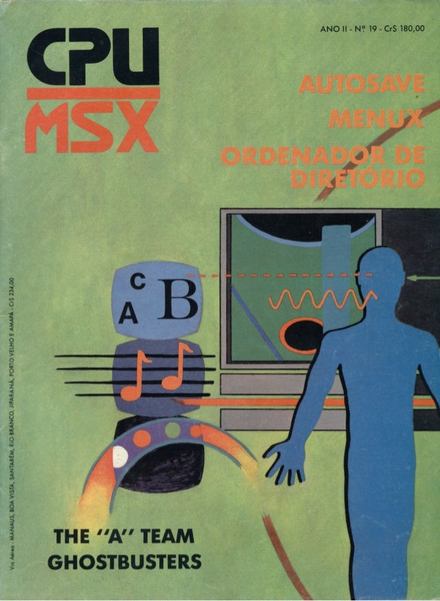 Revista CPU MSX - No. 19 - 1988