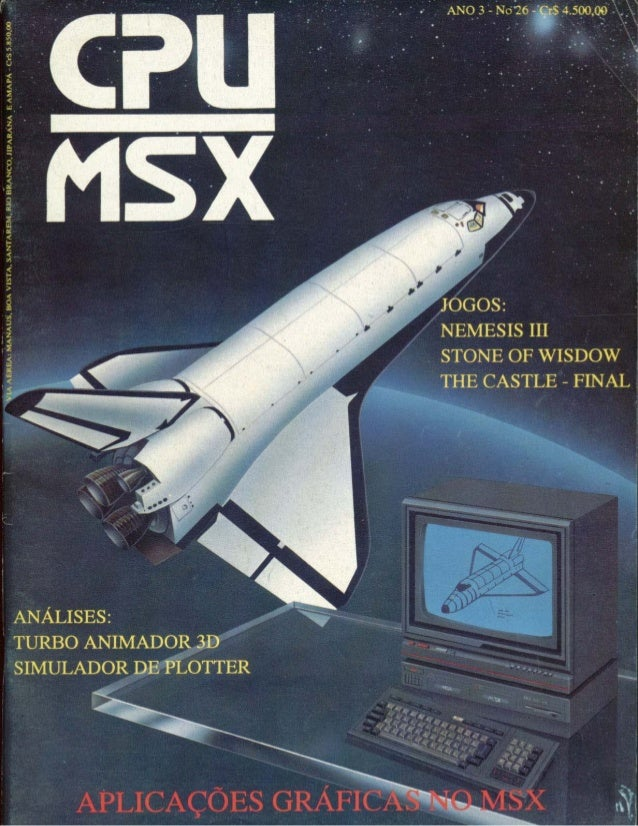Revista CPU MSX - No. 26 - 1988