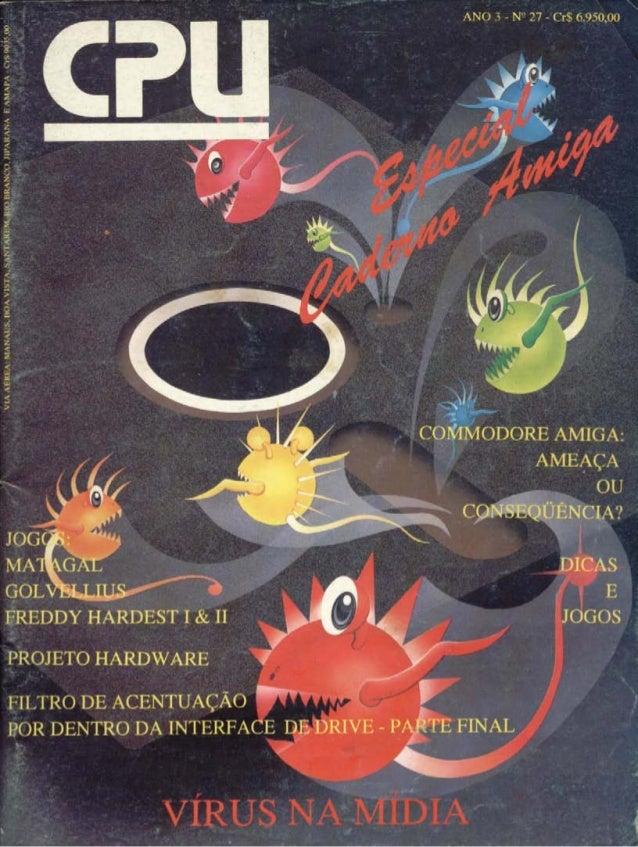 Revista CPU MSX - No. 27 - 1988