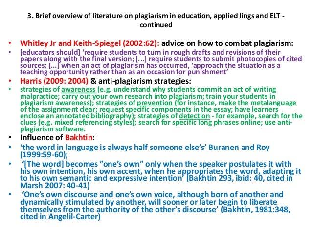 student plagiarism essay