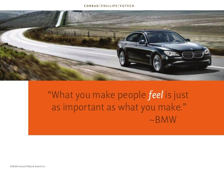"""""""What you make people feel is just                                          as important as what you make.""""               ..."""