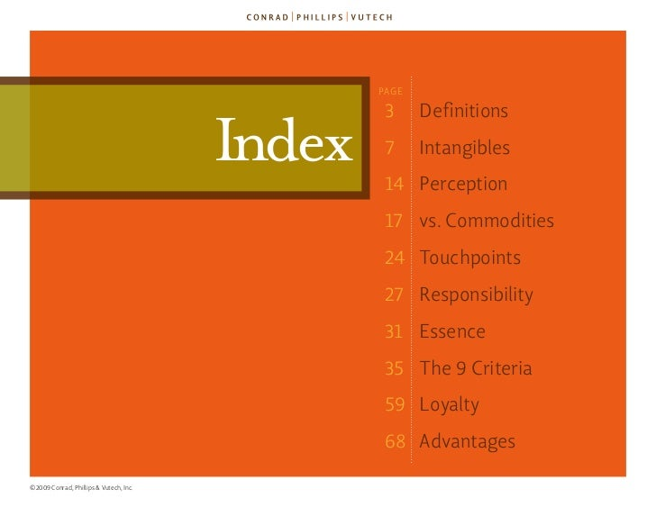 The 9 Criteria for Brand Essence (TM) Slide 2