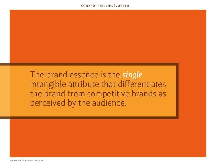 The 9 Criteria for Brand Essence (TM) Slide 34