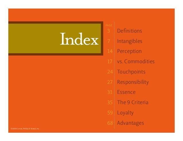 9 criteria for brand essence Slide 2