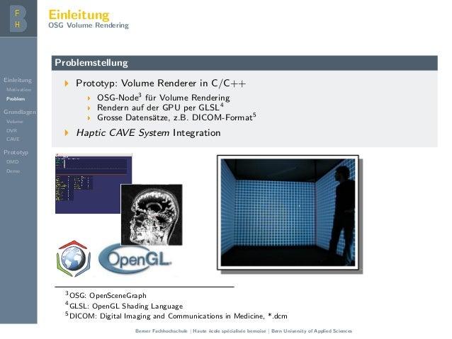 OSG Volume Rendering - Presentation