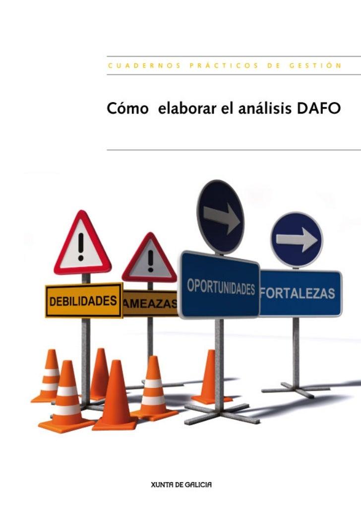 Cómo elaborar el análisis DAFOCuadernos prácticos. Gestión empresarial