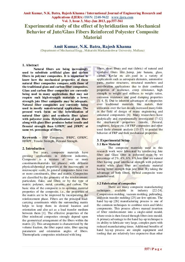 Amit Kumar, N.K. Batra, Rajesh Khanna / International Journal of Engineering Research andApplications (IJERA) ISSN: 2248-9...