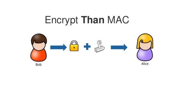 Encrypt Than MAC