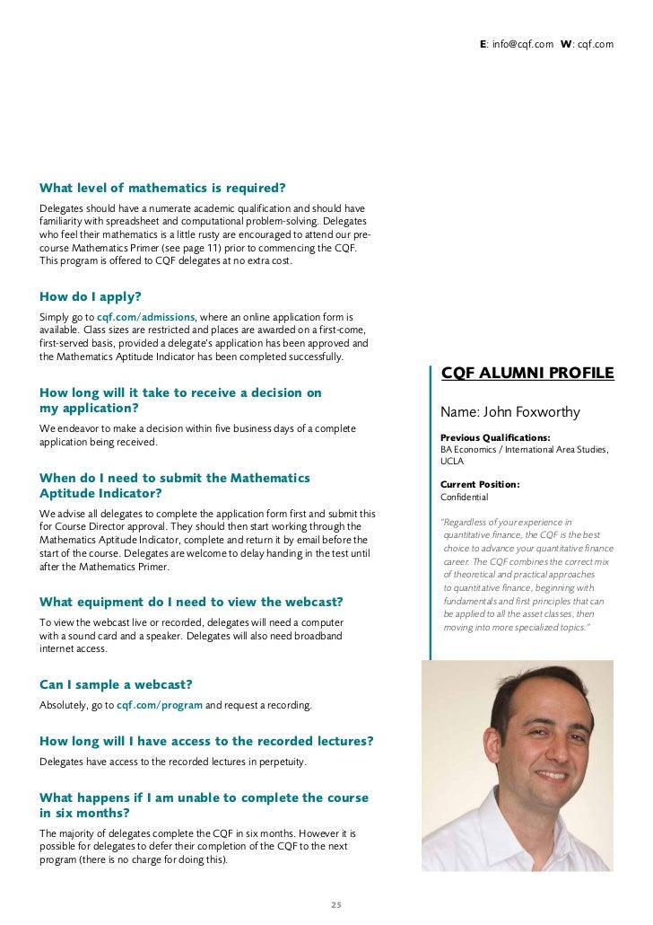 Cfa scholarship essay