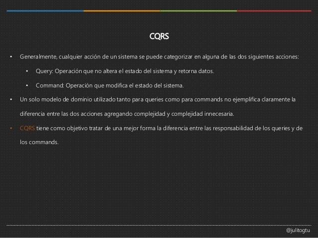 Introducción a CQRS Slide 2