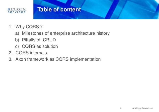CQRS innovations (English version) Slide 2