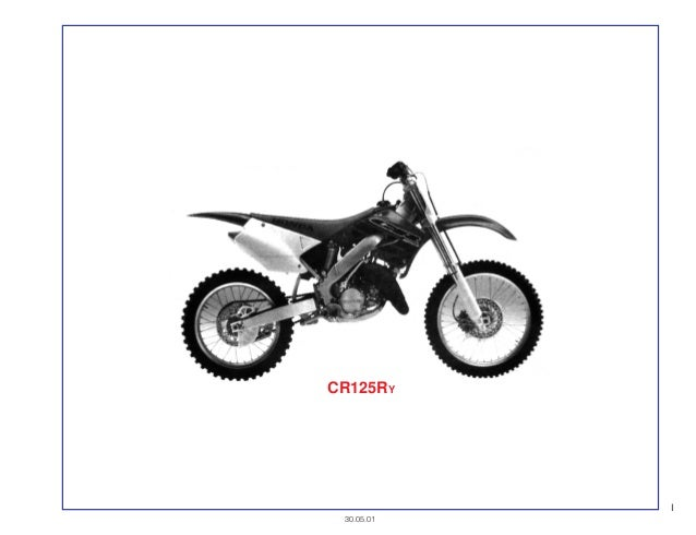 Manual Moto Cr125 ry