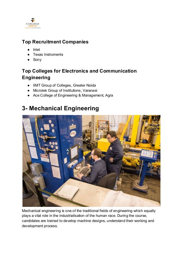 Which Are The Best Engineering Courses in India