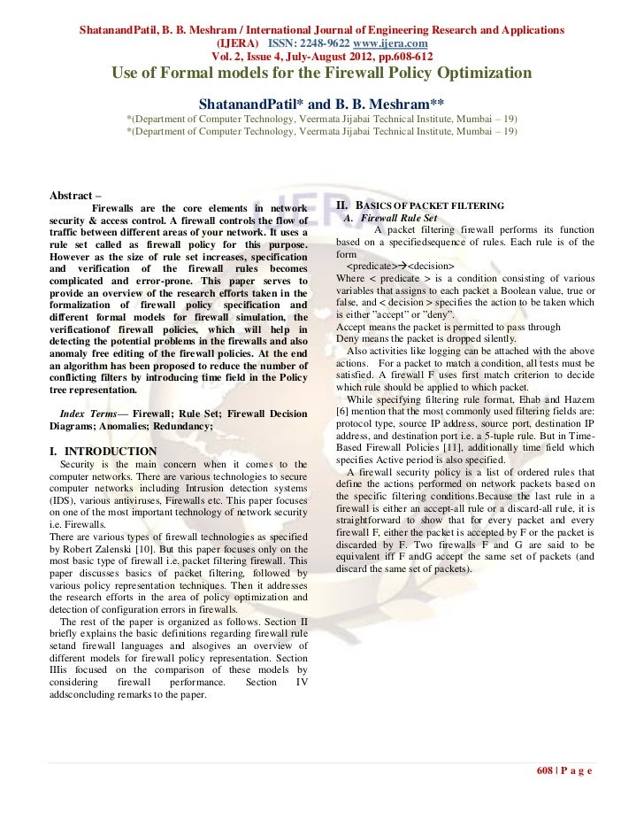 ShatanandPatil, B. B. Meshram / International Journal of Engineering Research and Applications                            ...