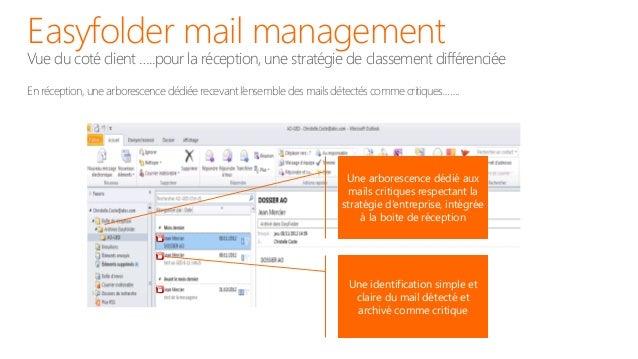 Easyfolder mail managementOutlook Web