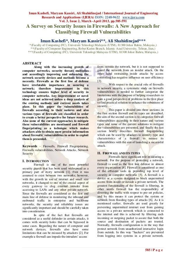 Iman Kashefi, Maryam Kassiri, Ali Shahidinejad / International Journal of EngineeringResearch and Applications (IJERA) ISS...