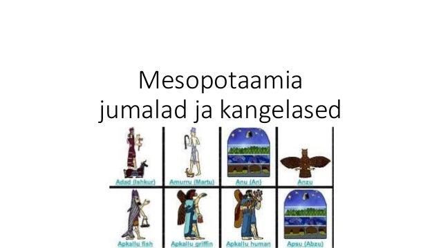 Mesopotaamia jumalad ja kangelased