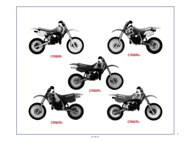 Manual Moto Cr80 r