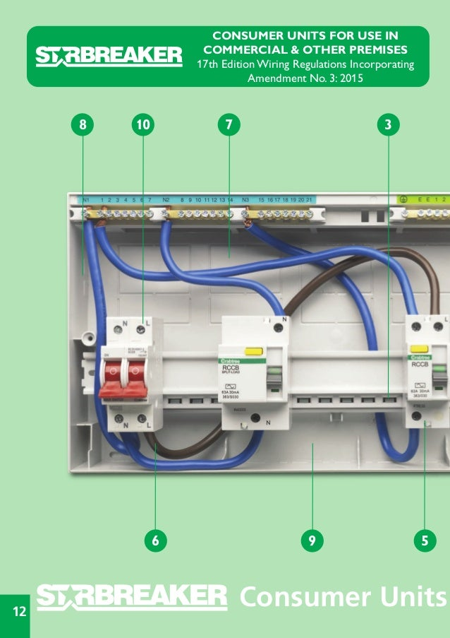 cute 17th edition consumer unit wiring diagram pictures